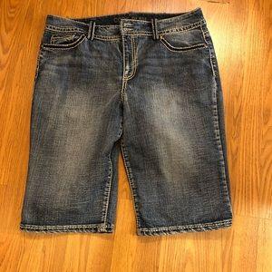 Code Bleu Denim Shorts